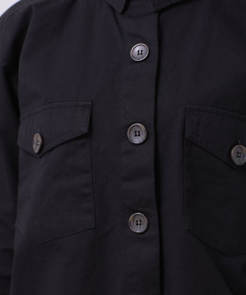 nano・universe(ナノ・ユニバース)/【WEB限定】カットオフミリタリーシャツジャケット/6759116002_img20