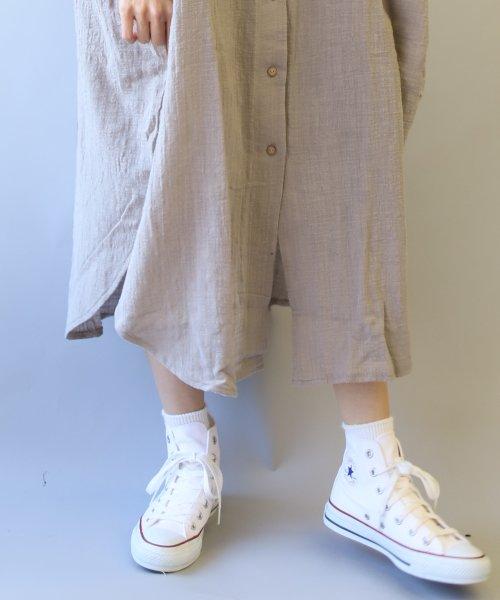 pairmanon(ペアマノン)/【ママサイズ】シングルガーゼ シャツ ワンピース/BH19SMOP12_img03