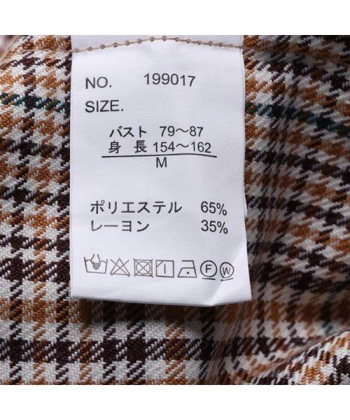 STYLEBLOCK(スタイルブロック)/スタイルブロック STYLEBLOCK 先染め柄開襟ビッグシャツ (ブラウン01)/ST4819EW24071_img03