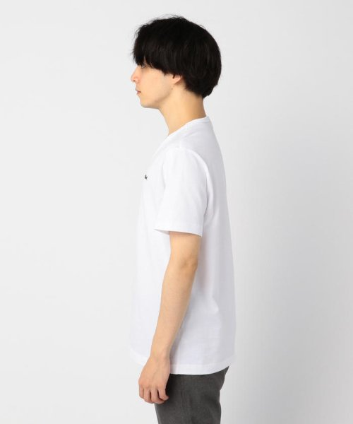GLOSTER(GLOSTER)/【LACOSTE/ラコステ】VネックTシャツ #TH632EM/9-0670-2-53-001_img02