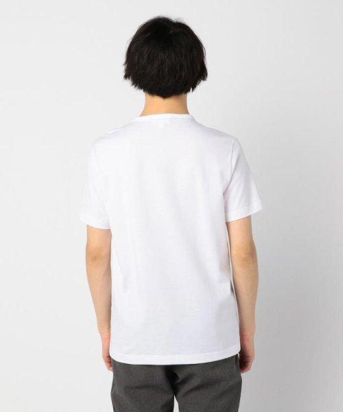 GLOSTER(GLOSTER)/【LACOSTE/ラコステ】VネックTシャツ #TH632EM/9-0670-2-53-001_img03