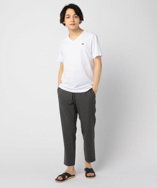 GLOSTER(GLOSTER)/【LACOSTE/ラコステ】VネックTシャツ #TH632EM/9-0670-2-53-001_img09