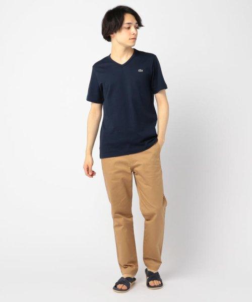 GLOSTER(GLOSTER)/【LACOSTE/ラコステ】VネックTシャツ #TH632EM/9-0670-2-53-001_img10
