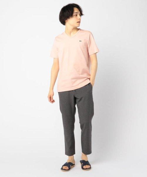 GLOSTER(GLOSTER)/【LACOSTE/ラコステ】VネックTシャツ #TH632EM/9-0670-2-53-001_img11