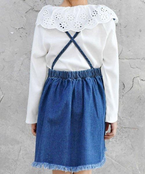 子供服Bee(子供服Bee)/フレアデニムジャンパースカート/bbb01614_img02