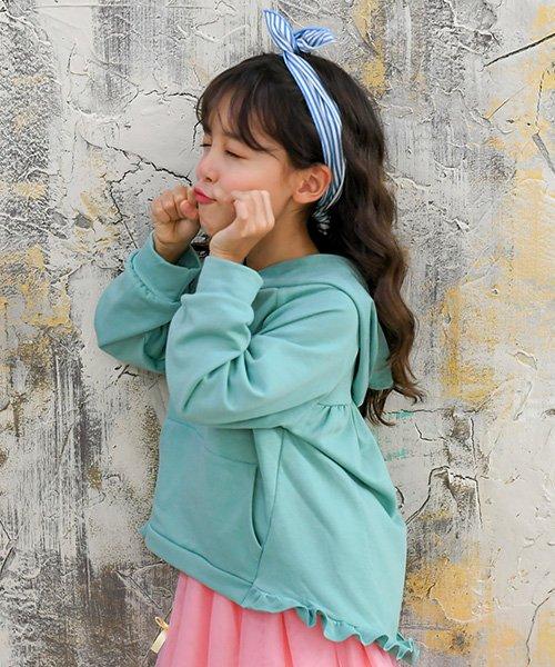子供服Bee(子供服Bee)/アシメ裾フリル長袖パーカー/taa05204_img02