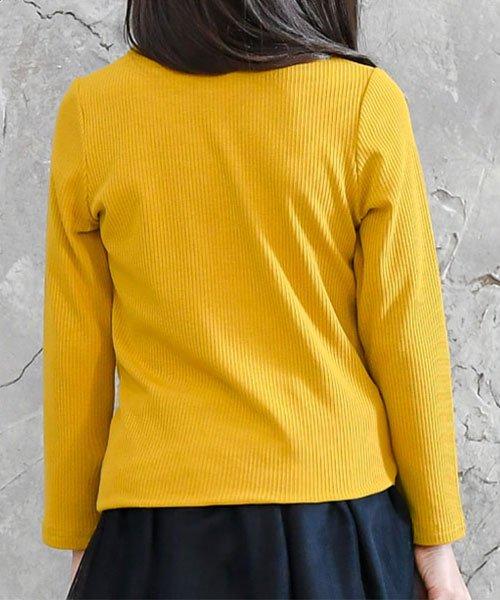 子供服Bee(子供服Bee)/リボン付リブカットソー/taa05209_img02