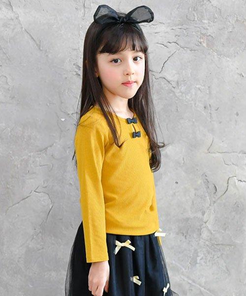 子供服Bee(子供服Bee)/リボン付リブカットソー/taa05209_img05