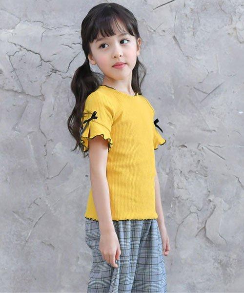 子供服Bee(子供服Bee)/リブ地半袖トップス/tbb02482_img03