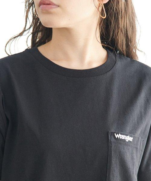 ROPE' PICNIC(ロペピクニック)/【WRANGLER×ROPE' PICNIC】ポケット付きTシャツワンピース/GDE19620_img03