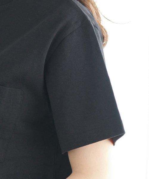 ROPE' PICNIC(ロペピクニック)/【WRANGLER×ROPE' PICNIC】ポケット付きTシャツワンピース/GDE19620_img04