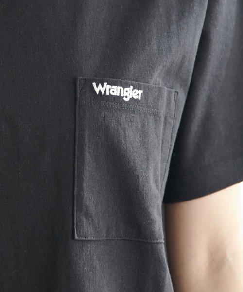 ROPE' PICNIC(ロペピクニック)/【WRANGLER×ROPE' PICNIC】ポケット付きTシャツワンピース/GDE19620_img05