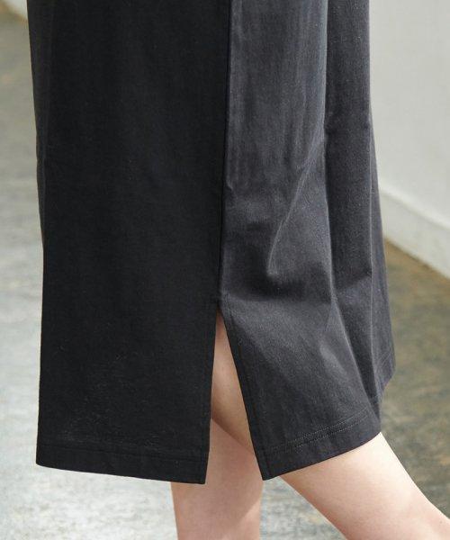 ROPE' PICNIC(ロペピクニック)/【WRANGLER×ROPE' PICNIC】ポケット付きTシャツワンピース/GDE19620_img06