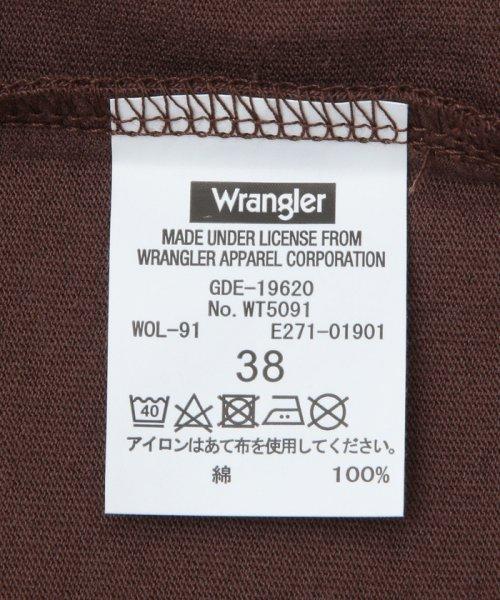 ROPE' PICNIC(ロペピクニック)/【WRANGLER×ROPE' PICNIC】ポケット付きTシャツワンピース/GDE19620_img10