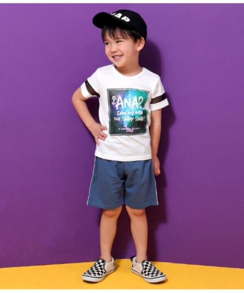 ANAP KIDS(アナップキッズ)/メッシュライン宇宙柄プリントTシャツ/0437800017_img06