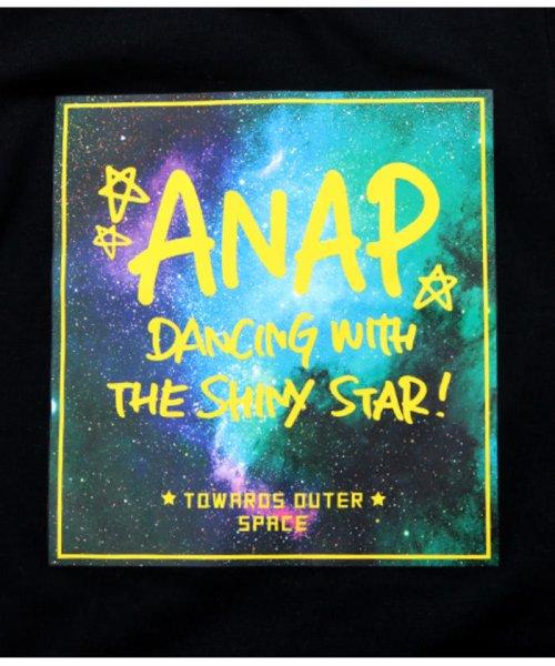 ANAP KIDS(アナップキッズ)/メッシュライン宇宙柄プリントTシャツ/0437800017_img11