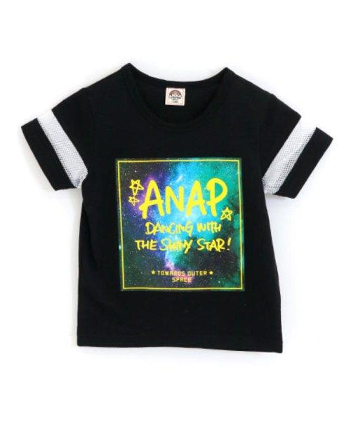ANAP KIDS(アナップキッズ)/メッシュライン宇宙柄プリントTシャツ/0437800017_img14