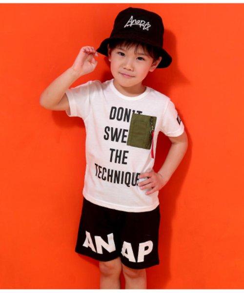 ANAP KIDS(アナップキッズ)/ミリタリーポケットTシャツ/0437800018_img02