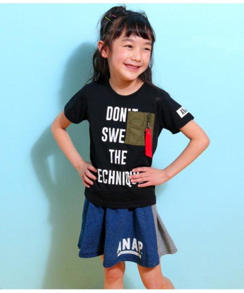 ANAP KIDS(アナップキッズ)/ミリタリーポケットTシャツ/0437800018_img04