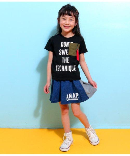 ANAP KIDS(アナップキッズ)/ミリタリーポケットTシャツ/0437800018_img05
