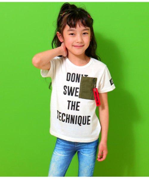 ANAP KIDS(アナップキッズ)/ミリタリーポケットTシャツ/0437800018_img07