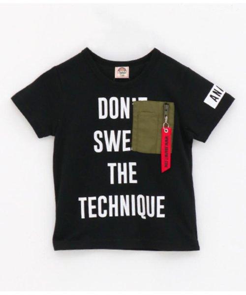 ANAP KIDS(アナップキッズ)/ミリタリーポケットTシャツ/0437800018_img11