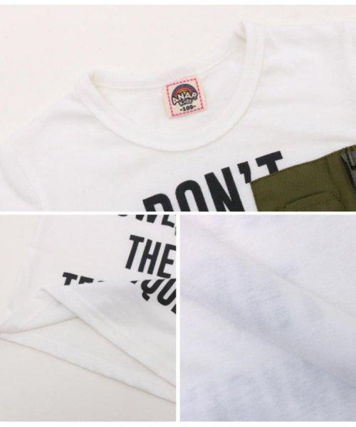 ANAP KIDS(アナップキッズ)/ミリタリーポケットTシャツ/0437800018_img15