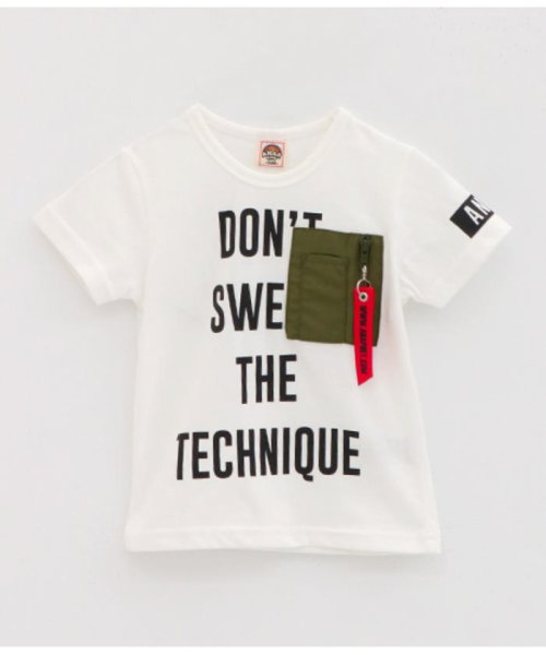 ANAP KIDS(アナップキッズ)/ミリタリーポケットTシャツ/0437800018_img18