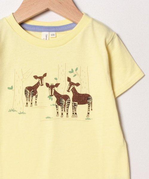 LAGOM(ラーゴム)/[ズーラシアコラボ]オカピTシャツ/1207592211411_img02
