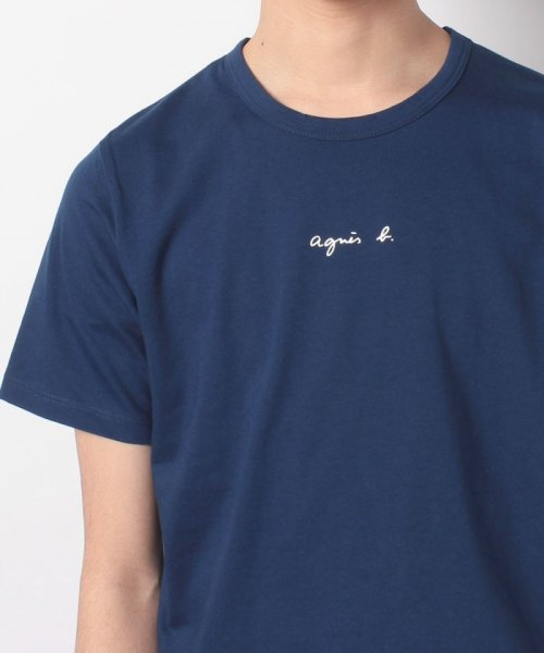agnes b. HOMME(アニエスベー オム)/【WEB限定】SCI0 TS ロゴTシャツ/8807SCI0E19_img04
