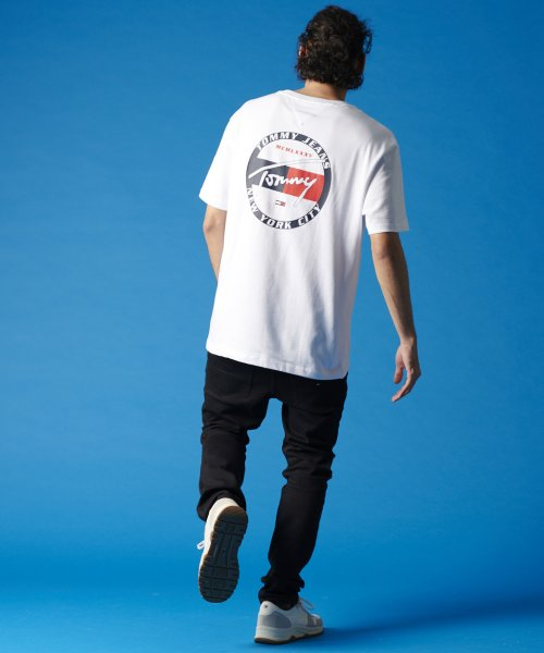 TOMMY JEANS(トミージーンズ)/バックグラフィックTシャツ/DM0DM06314_img05