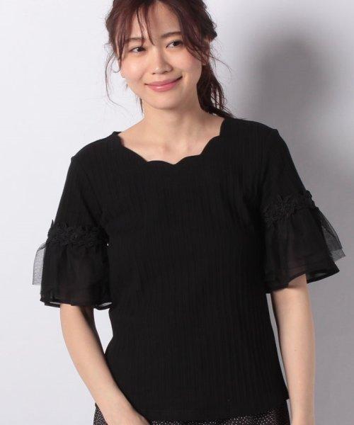 Dear Princess(ディアプリンセス)/ランダムテレコカットソー半袖Tシャツ/3082116_img09