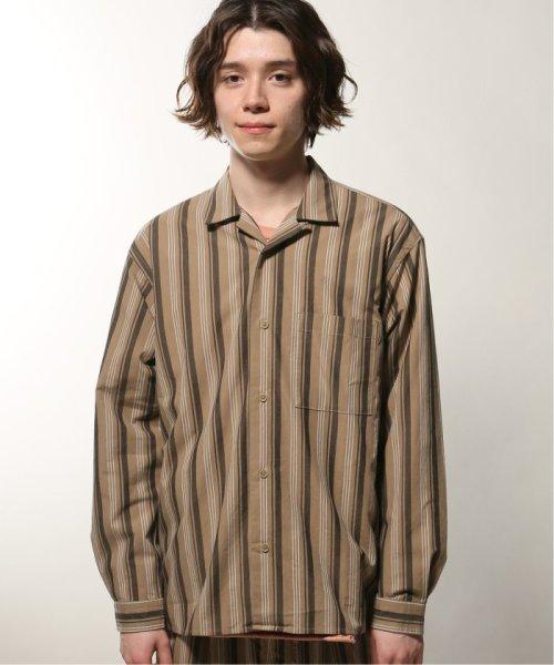 JOURNAL STANDARD relume Men's(ジャーナルスタンダード レリューム メンズ)/ウェザー ストライプ オープンシャツ/19050464331010_img02