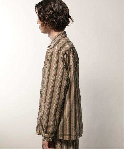 JOURNAL STANDARD relume Men's(ジャーナルスタンダード レリューム メンズ)/ウェザー ストライプ オープンシャツ/19050464331010_img03