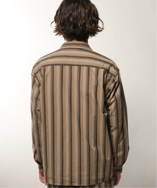 JOURNAL STANDARD relume Men's(ジャーナルスタンダード レリューム メンズ)/ウェザー ストライプ オープンシャツ/19050464331010_img04