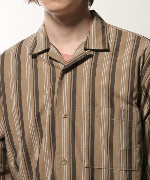 JOURNAL STANDARD relume Men's(ジャーナルスタンダード レリューム メンズ)/ウェザー ストライプ オープンシャツ/19050464331010_img05