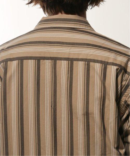 JOURNAL STANDARD relume Men's(ジャーナルスタンダード レリューム メンズ)/ウェザー ストライプ オープンシャツ/19050464331010_img06
