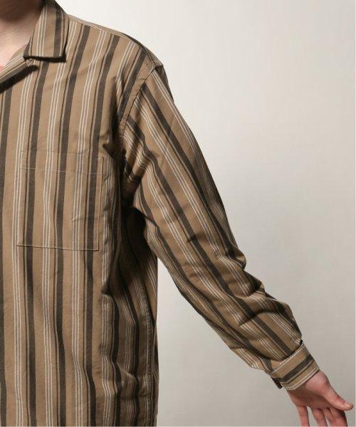 JOURNAL STANDARD relume Men's(ジャーナルスタンダード レリューム メンズ)/ウェザー ストライプ オープンシャツ/19050464331010_img07