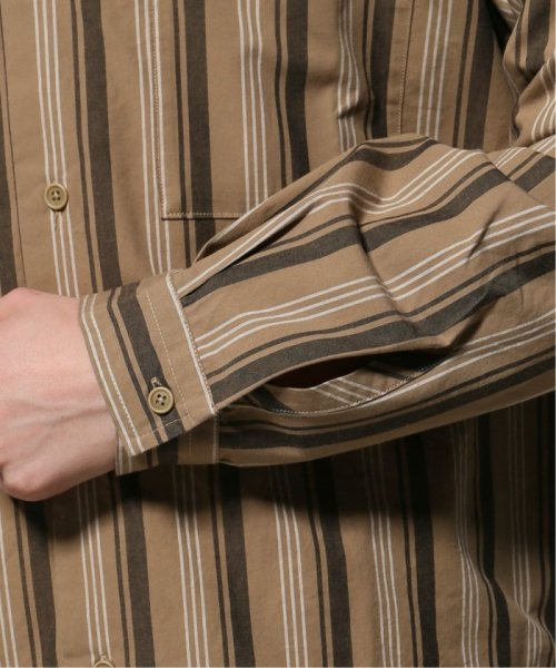 JOURNAL STANDARD relume Men's(ジャーナルスタンダード レリューム メンズ)/ウェザー ストライプ オープンシャツ/19050464331010_img08