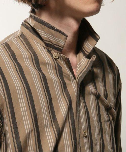 JOURNAL STANDARD relume Men's(ジャーナルスタンダード レリューム メンズ)/ウェザー ストライプ オープンシャツ/19050464331010_img09