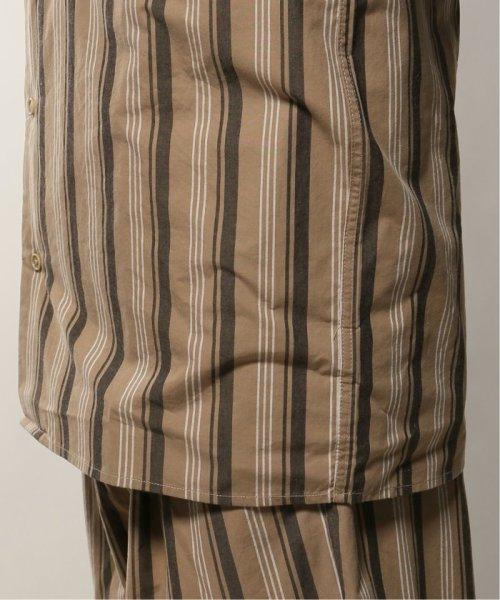 JOURNAL STANDARD relume Men's(ジャーナルスタンダード レリューム メンズ)/ウェザー ストライプ オープンシャツ/19050464331010_img12
