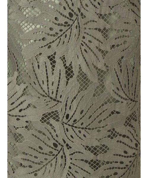 MERCURYDUO(マーキュリーデュオ)/リーフ柄ケミカルレースタイトスカート/001930800401_img17