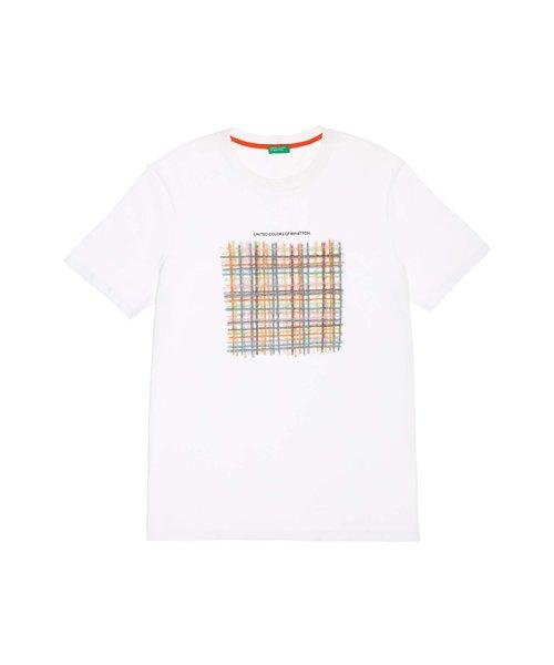 BENETTON (mens)(ベネトン(メンズ))/グラフィック半袖Tシャツ・カットソー/19P3U53J13C2_img01