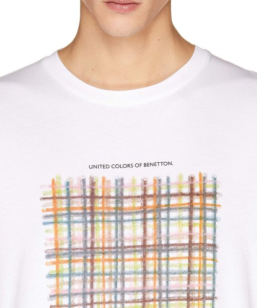 BENETTON (mens)(ベネトン(メンズ))/グラフィック半袖Tシャツ・カットソー/19P3U53J13C2_img04
