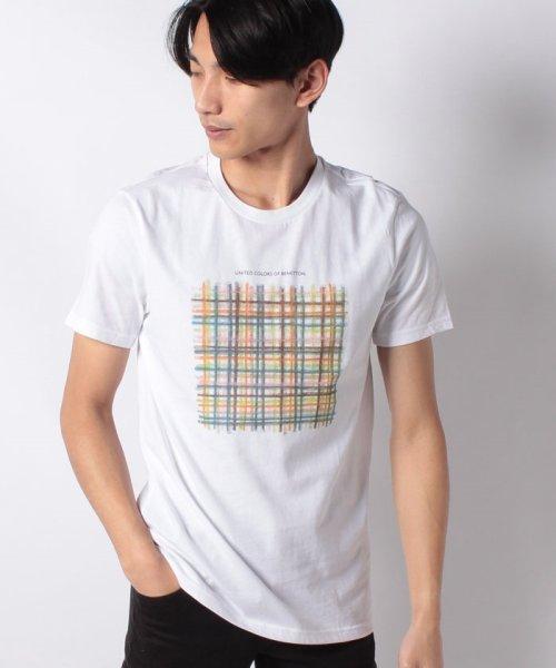 BENETTON (mens)(ベネトン(メンズ))/グラフィック半袖Tシャツ・カットソー/19P3U53J13C2_img05