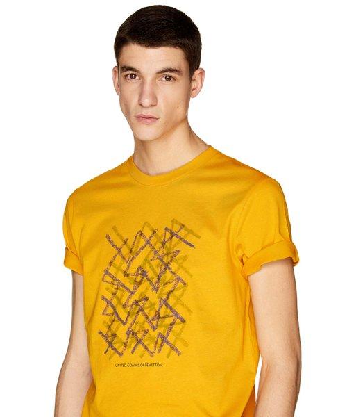 BENETTON (mens)(ベネトン(メンズ))/グラフィック半袖Tシャツ・カットソー/19P3U53J13C2_img12
