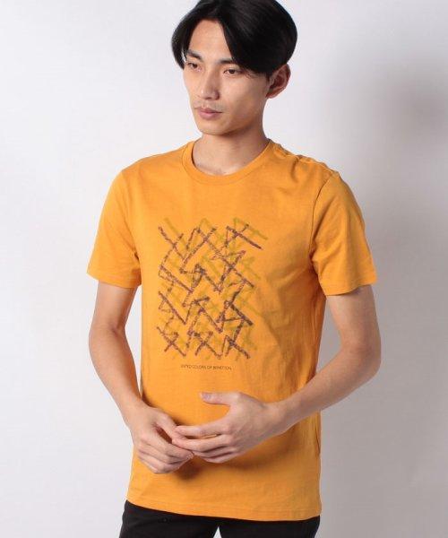 BENETTON (mens)(ベネトン(メンズ))/グラフィック半袖Tシャツ・カットソー/19P3U53J13C2_img14