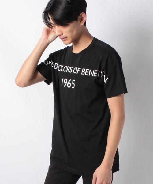 BENETTON (mens)(ベネトン(メンズ))/ヘリテージロゴ半袖Tシャツ・カットソー/19P3U53J13D2_img04