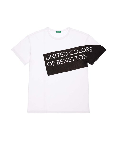BENETTON (mens)(ベネトン(メンズ))/ヘリテージロゴ半袖Tシャツ・カットソー/19P3U53J13D2_img09