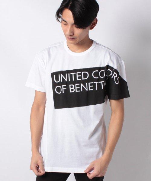 BENETTON (mens)(ベネトン(メンズ))/ヘリテージロゴ半袖Tシャツ・カットソー/19P3U53J13D2_img12